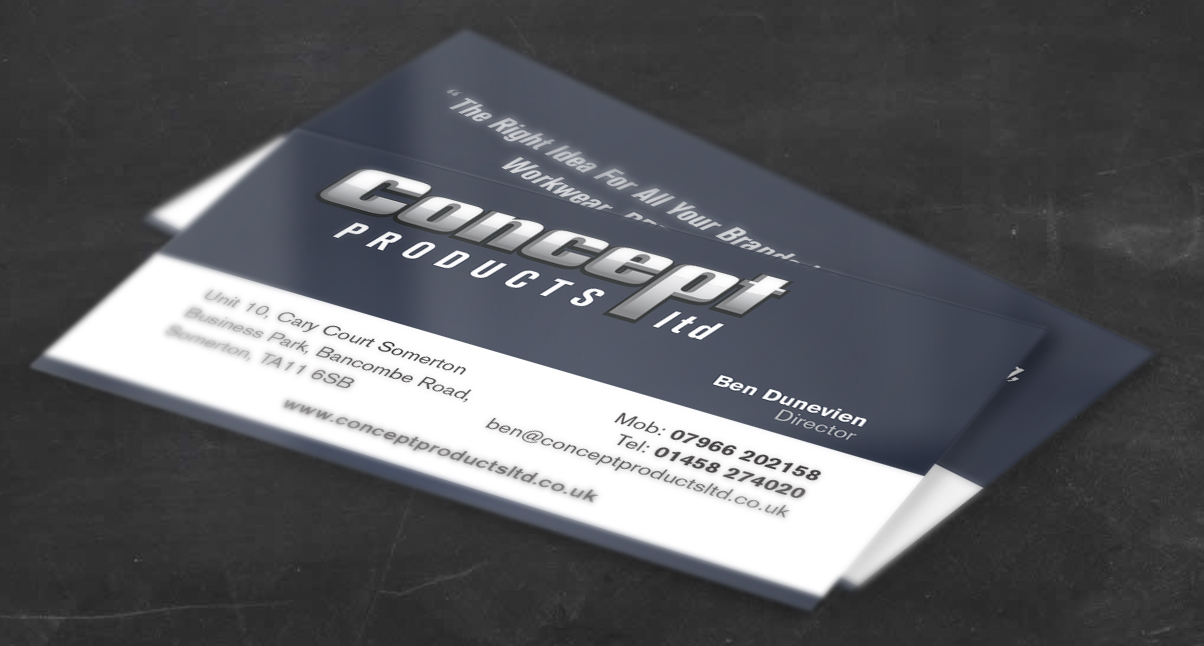 Concept Products Business Cards